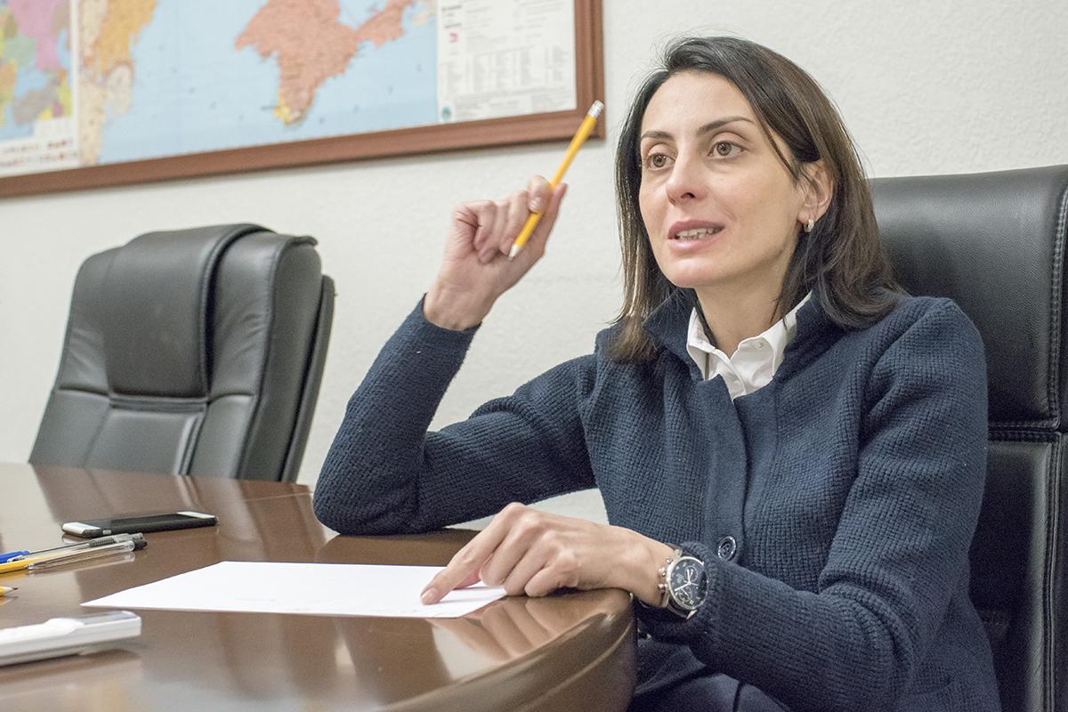 Хатия Деканоидзе, Фото: LIGA.net