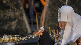 Филарет: Неестественно, чтобы украинские святыни принадлежали РЦ