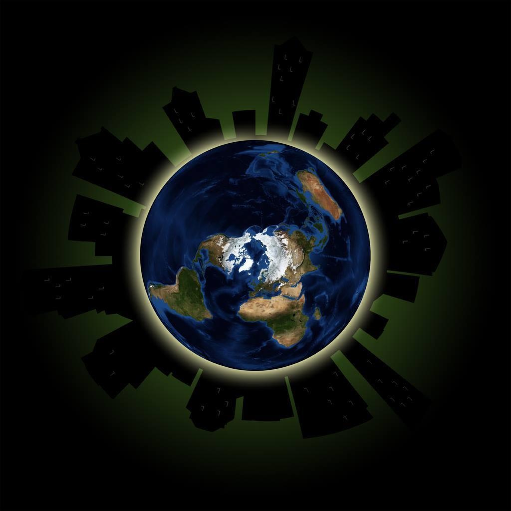 Час Земли из космоса