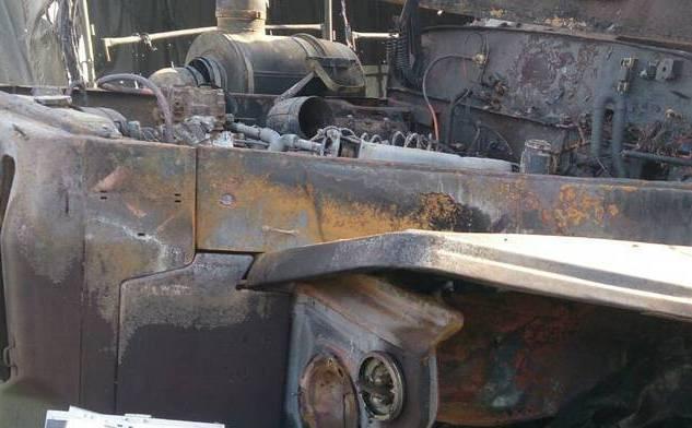 В Луганске взорвали танки и бронетехнику, которые оккупанты согнали для участия в параде, фото-1