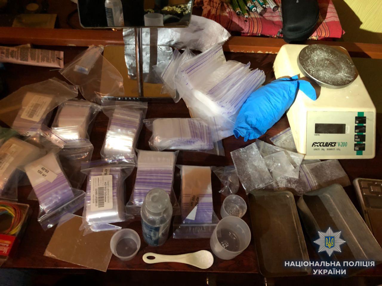 В Киеве ликвидировали нарколабораторию с миллионным доходом