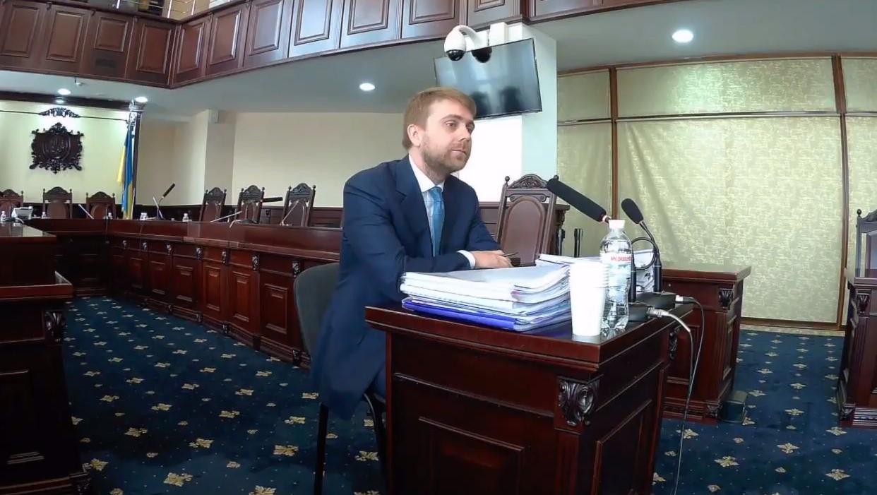 Богдан Санин (фото - скриншот видео)