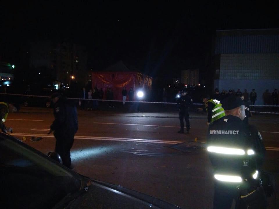 В Киеве взорвался автомобиль, есть погибший и раненый - фото