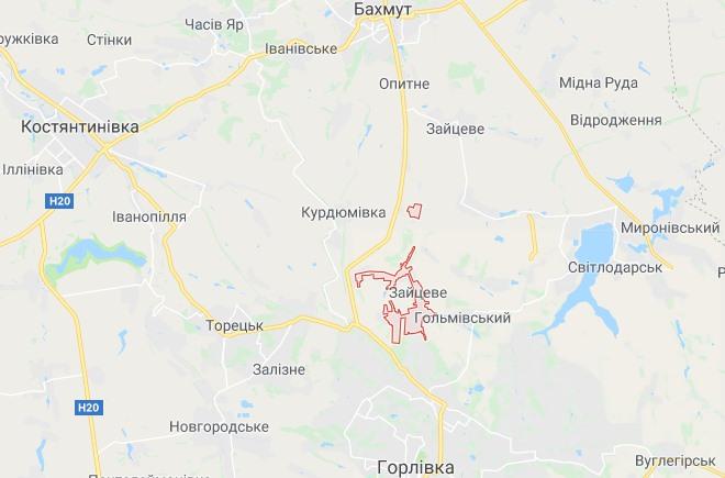 Боевики с утра накрывают артиллерией фронтовой поселок Зайцево