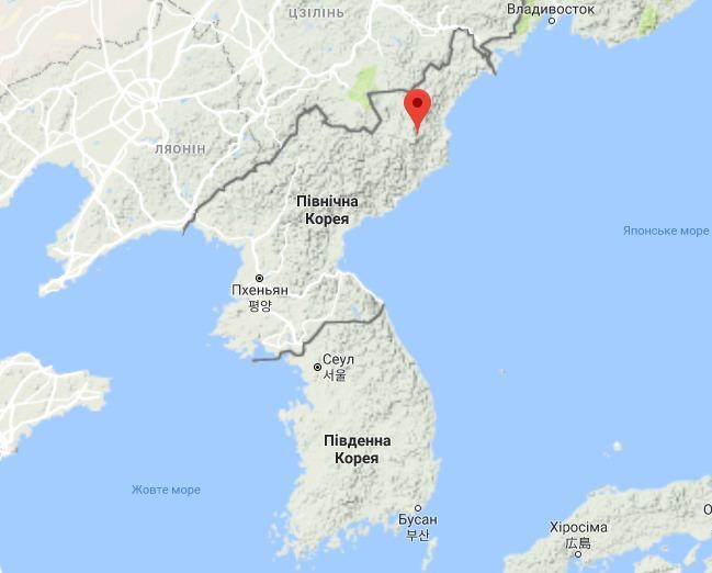 Термоядерный взрыв изменил горный ландшафт КНДР: исследование