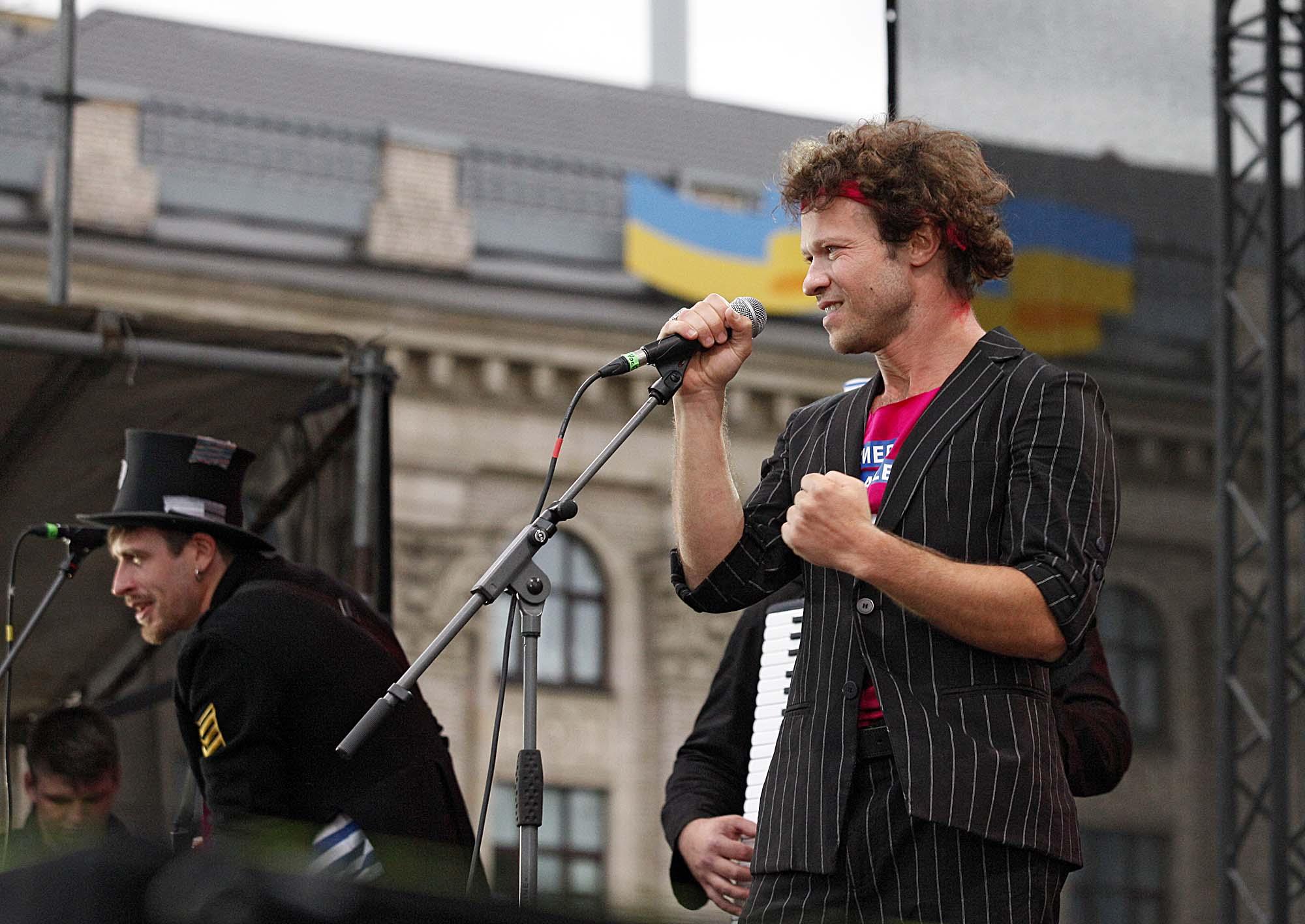 Фелікс Шиндер, керивник гурту «Деньги вперед», Одеса