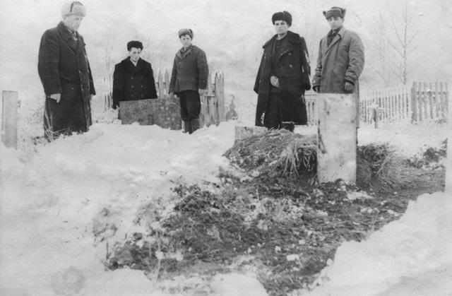 Похороны, м. Красновишерск, 1944 р.