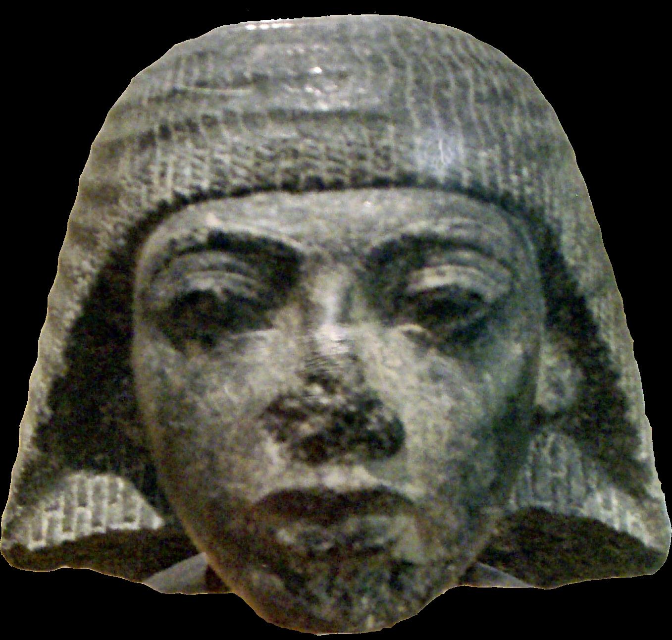 Голова статуи Рамзеса