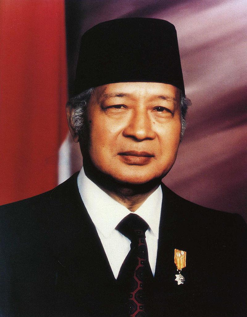 Президент Сухарто, 1993 год