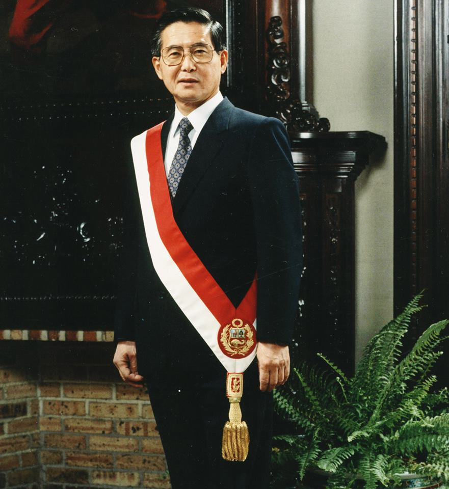 Президент Перу Альберто Фухимори