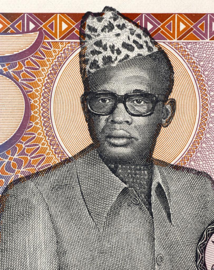 Мобуту Сесе Секо на купюрах