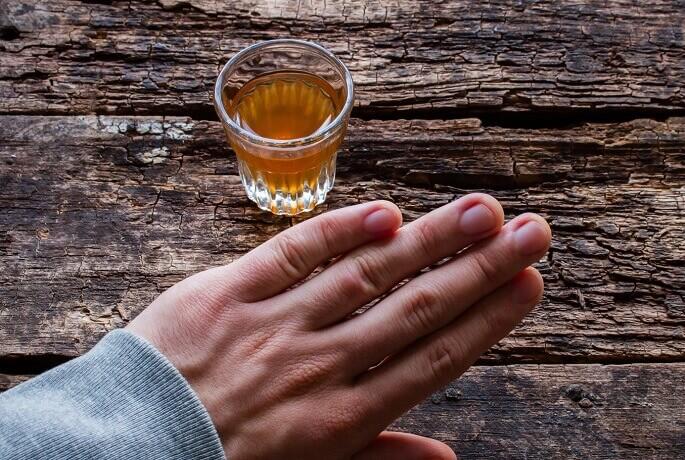 Самостоятельный отказ от алкоголя