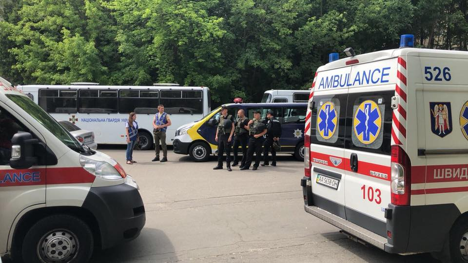 Не паниковать: в Киеве проходят полицейские учения