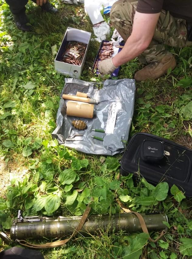 У жителя Черниговской области изъяли оружие и боеприпасы