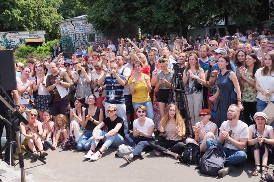Борис Гребещеков дает вцентре украинской столицы бесплатный концерт