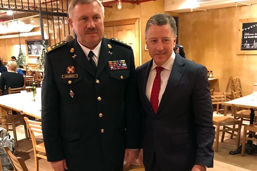 Командующий Нацгвардии обсудил с Волкером войну в Донбассе: фото