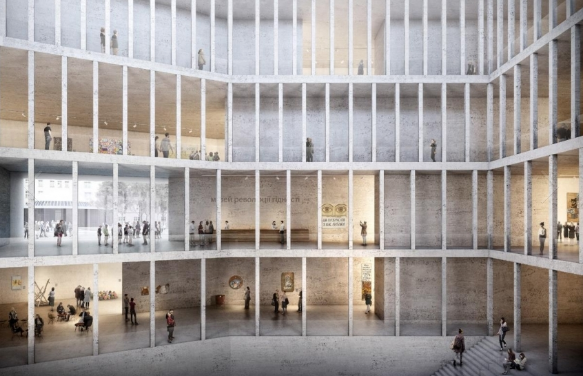 Каким будет музей Революции достоинства: фото