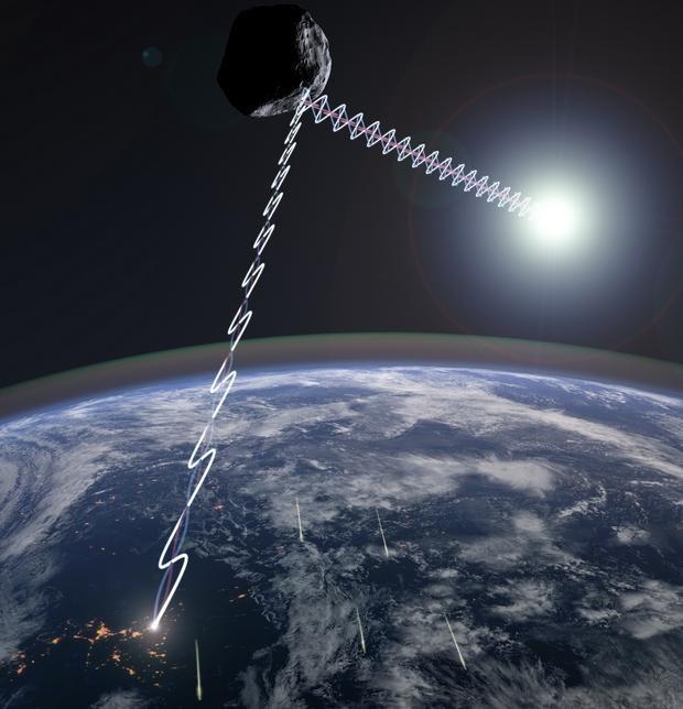 Недалеко от Солнца пролетает горячий астероид-стелс - ученые