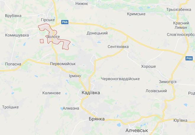 Штаб уточнил: вечером боевики из ПТРК подбили авто с военными