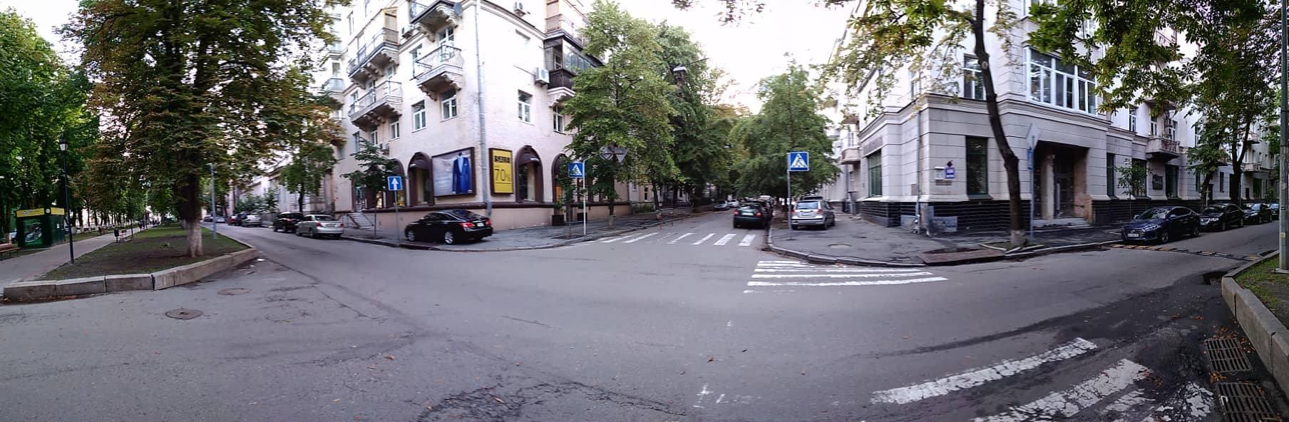 Место убийства Эйхгорна в современном Киеве