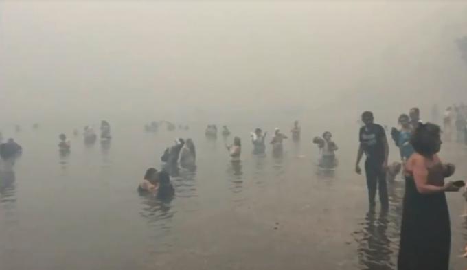 Самый смертоносный пожар в Европе за 100 лет: в Греции 91 жертва