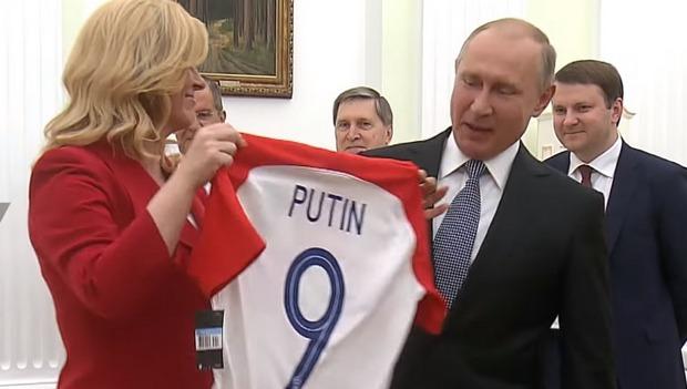 """Хорватский президент """"очень ждет Путина"""" в Загребе"""