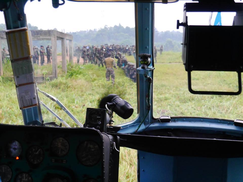 Украинские миротворцы в Конго уничтожили лагерь боевиков: фото