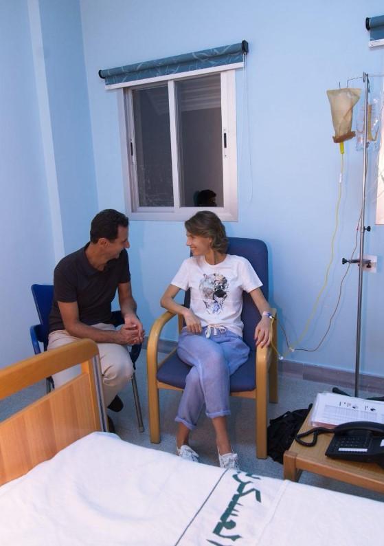 У жены Башара Асада диагностирован рак