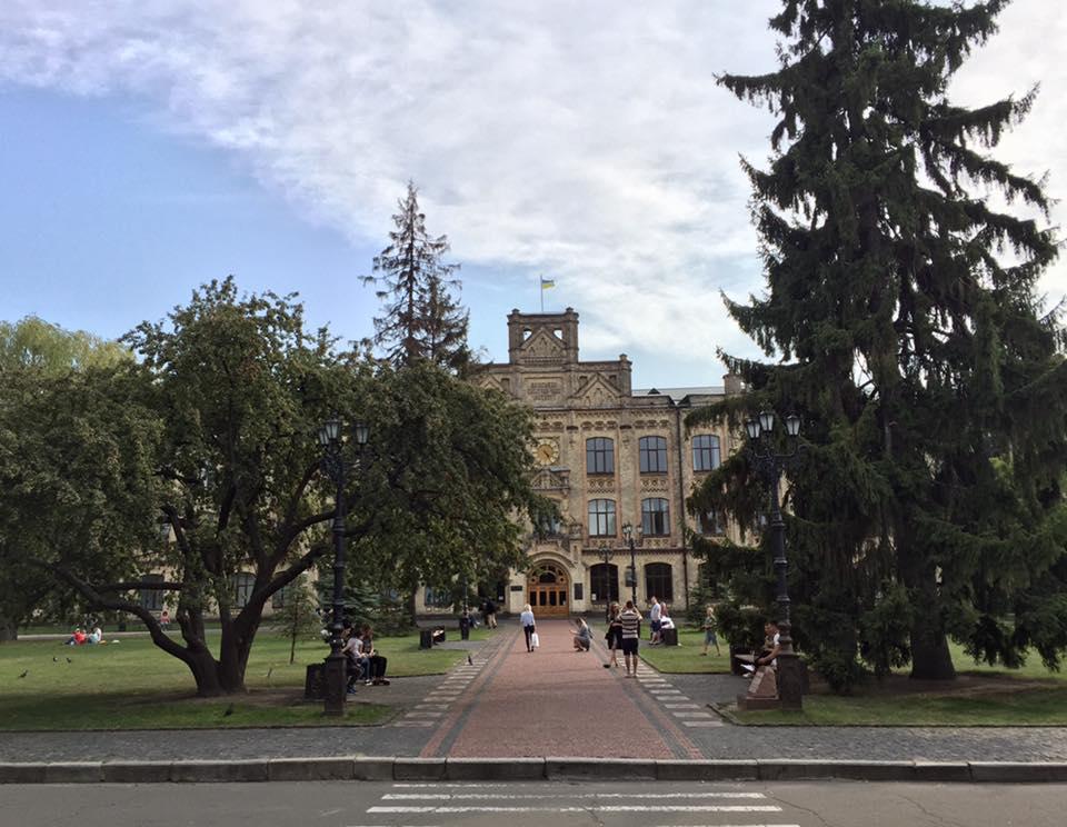 В парке КПИ спилили деревья: самому старому было 100 лет