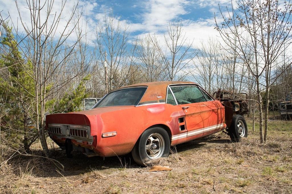 В США нашли уникальный Ford Mustang, исчезнувший 50 лет назад