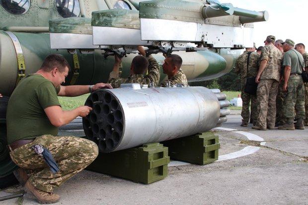 """Украина испытала авиаракеты """"Оскол"""": отстреляны 300 боеприпасов"""
