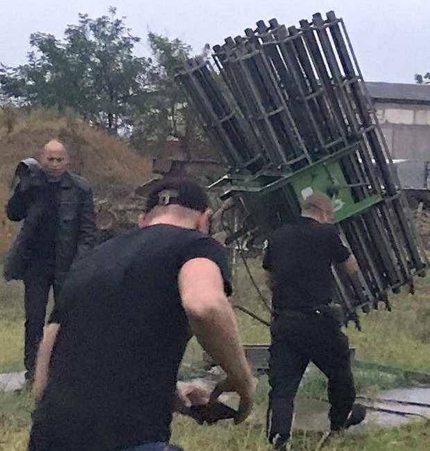 """В гараже под Одессой нашли ракеты типа """"земля-воздух"""": фото"""