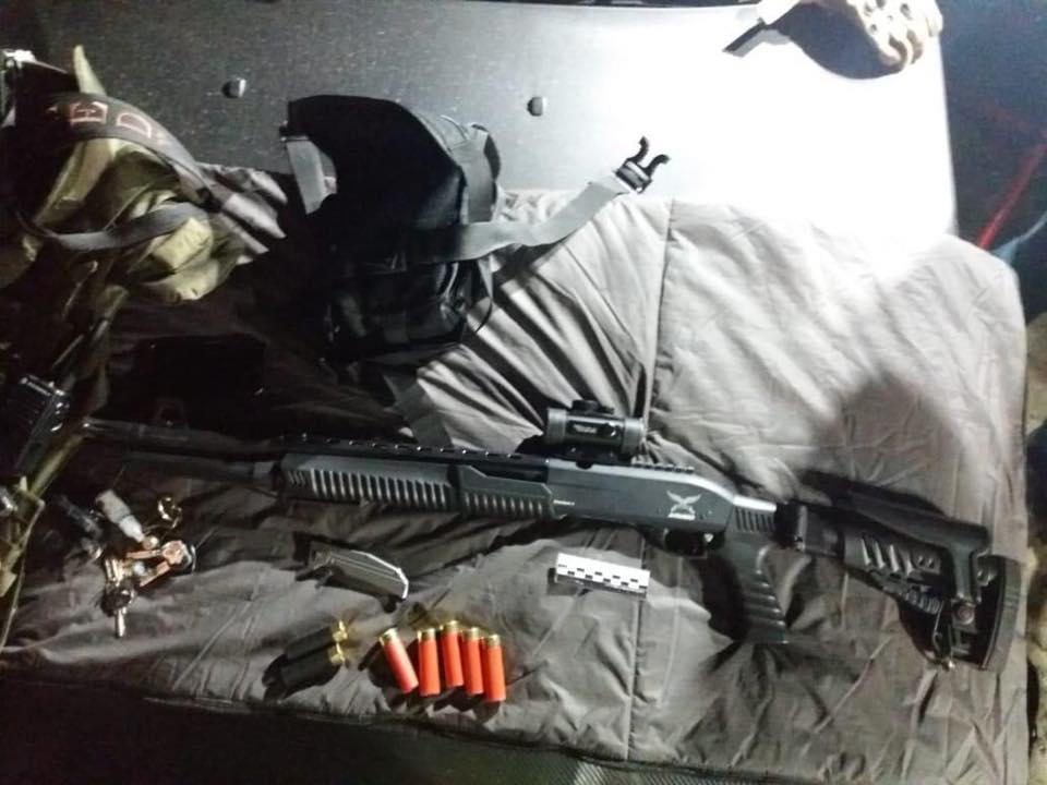 Стрельба на элеваторе под Харьковом: задержали 53 человека - фото