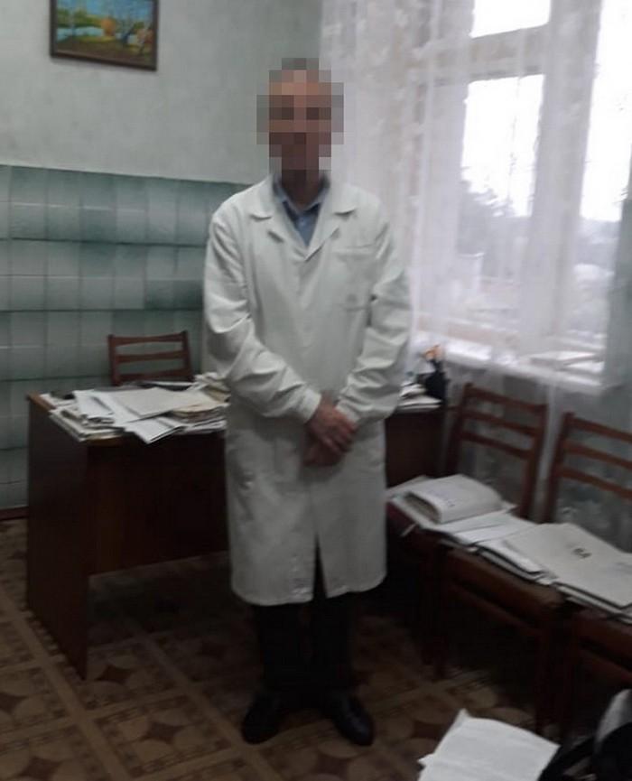 СБУ: доктор добивался у солдата ООС взятку заполучение инвалидности