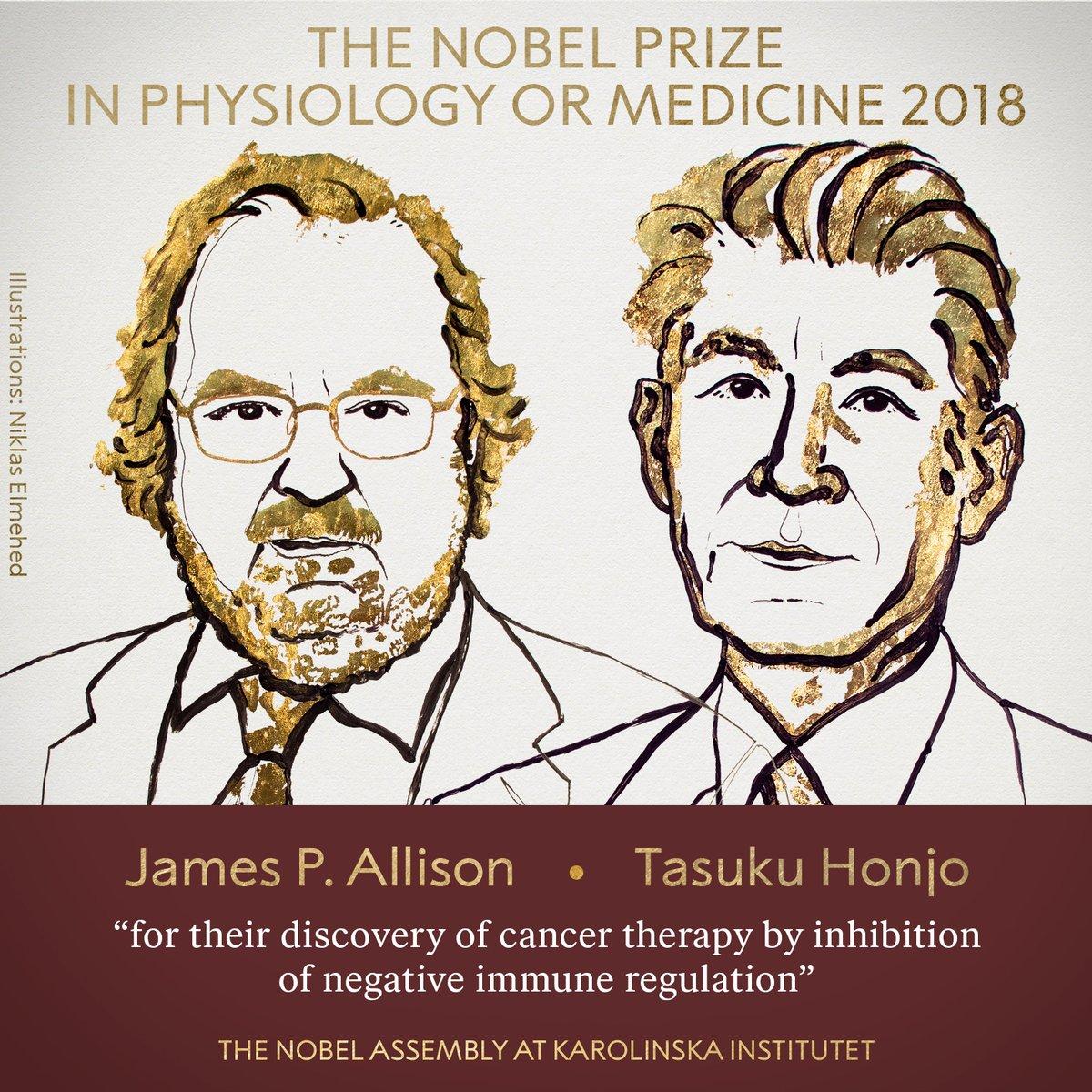 Нобелевскую премию по медицине присудили за терапию рака