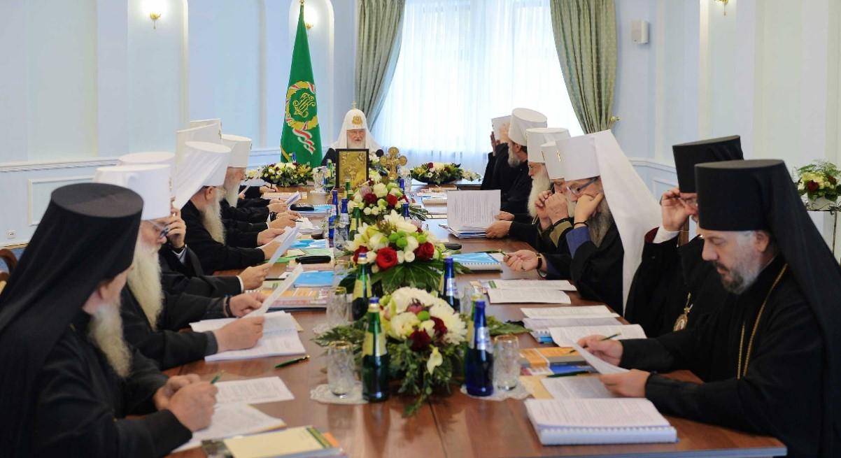В скандальном синоде РПЦ принял участие глава УПЦ МП Онуфрий