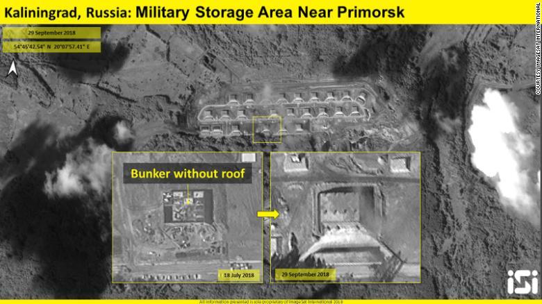 РФ строит новые ядерные бункеры под Калининградом: фото