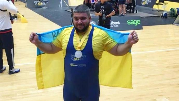 Ветеран АТО завоевал серебро для сборной на Играх непокоренных