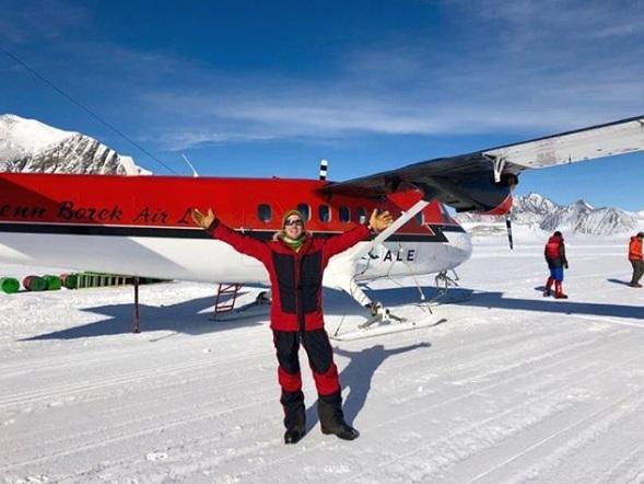 На юг, к полюсу. Как американец идет пешком через льды Антарктиды