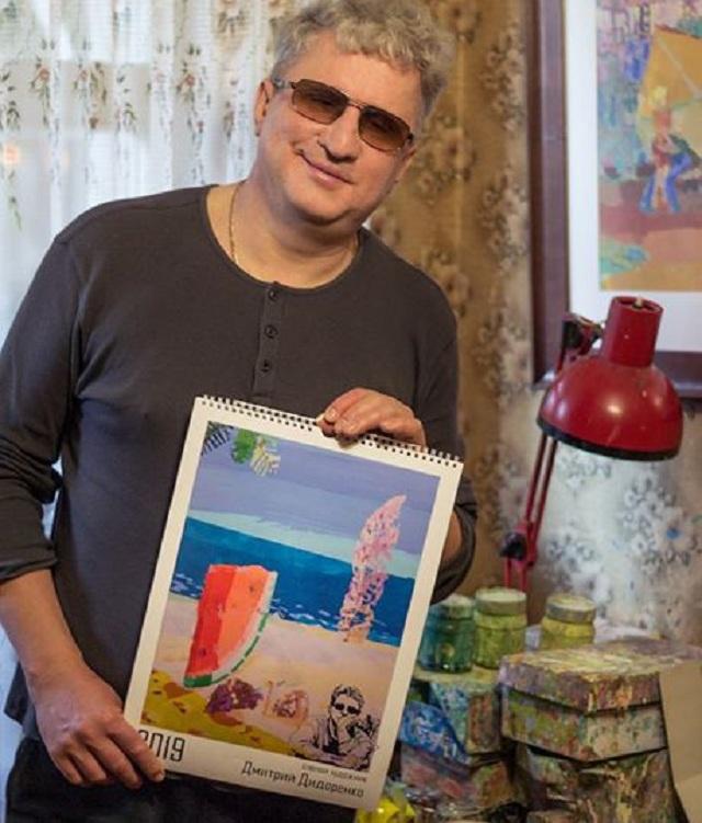 Стиль невозможного. Как слепой художник из Харькова пишет картины