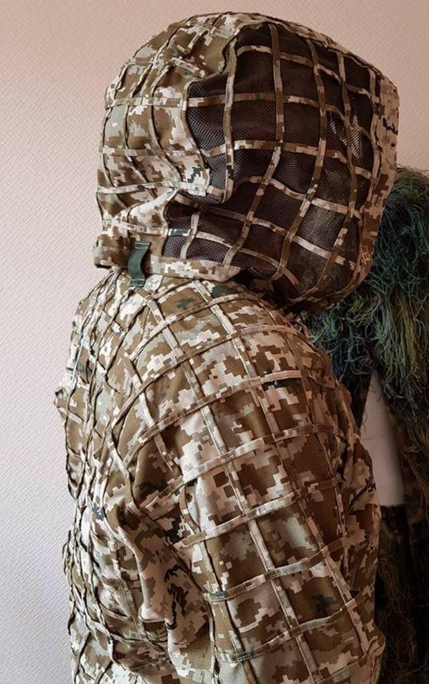Минобороны показало новый маскировочный костюм снайперов: фото