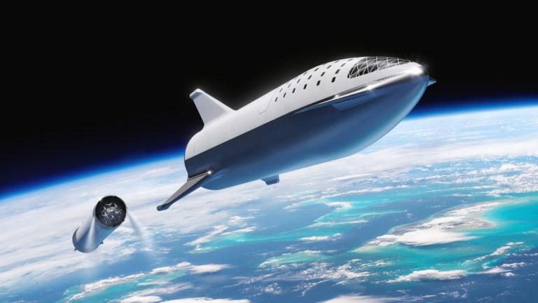 Маск передумал: вторая ступень ракеты не станет копией космолета