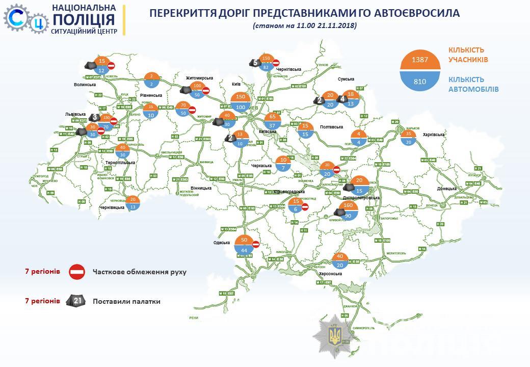 """Решено разблокировать все дороги от """"евробляхеров"""" - Аваков"""
