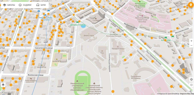 Карта: ЛУН