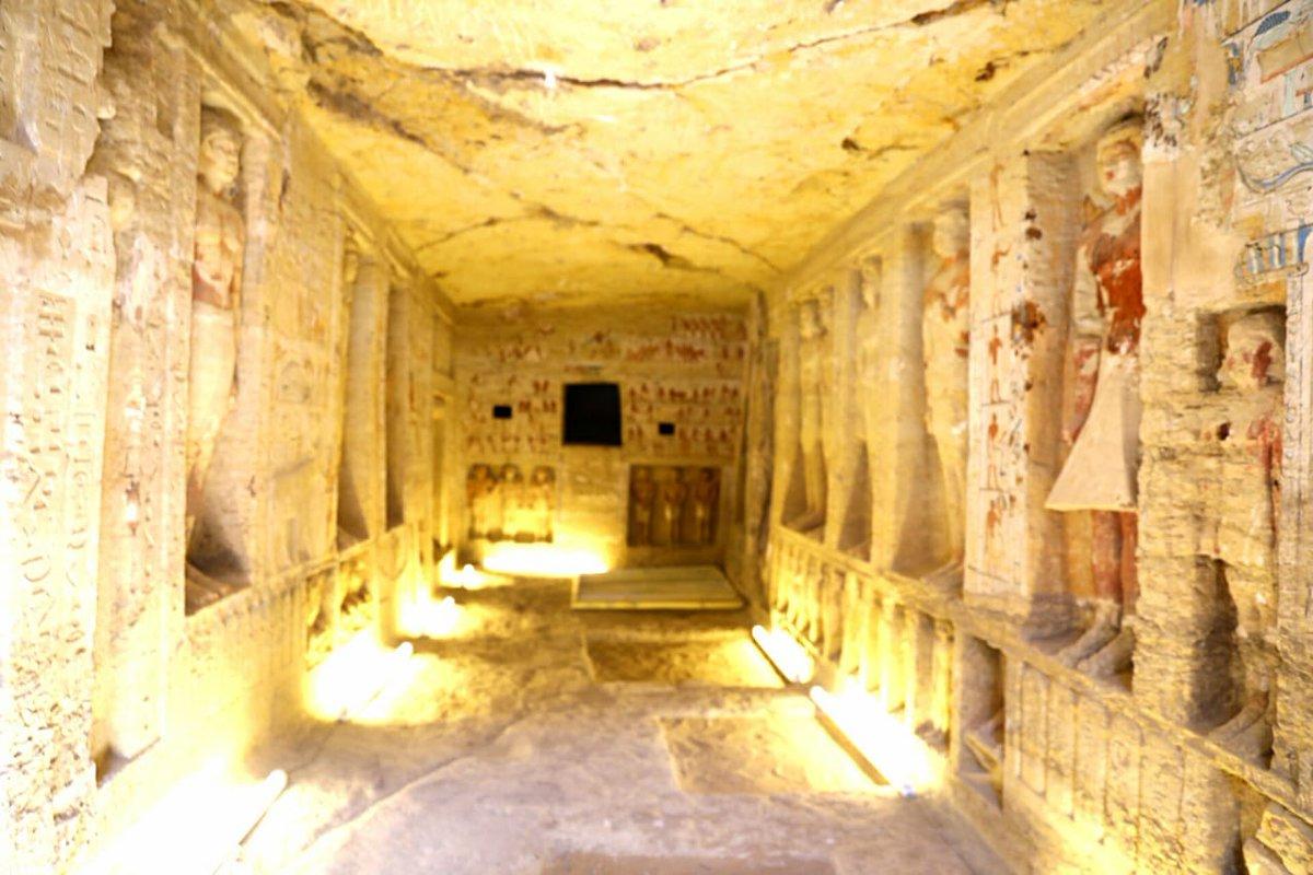 Загадка гробницы. Что нашли в Египте 4 тыс лет спустя