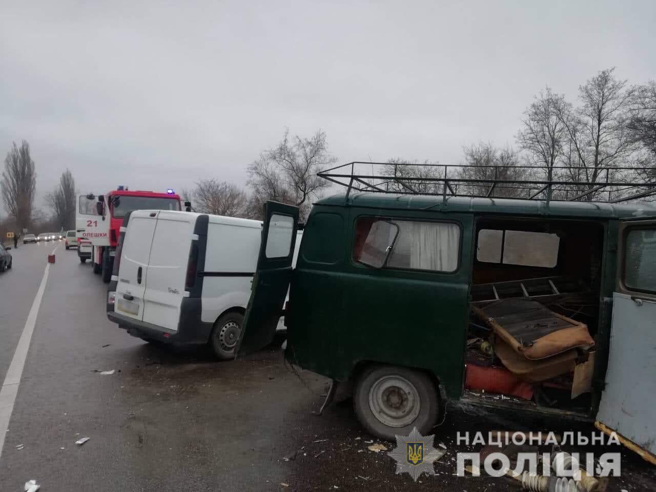 В ДТП в Херсонской области погибли 5 человек