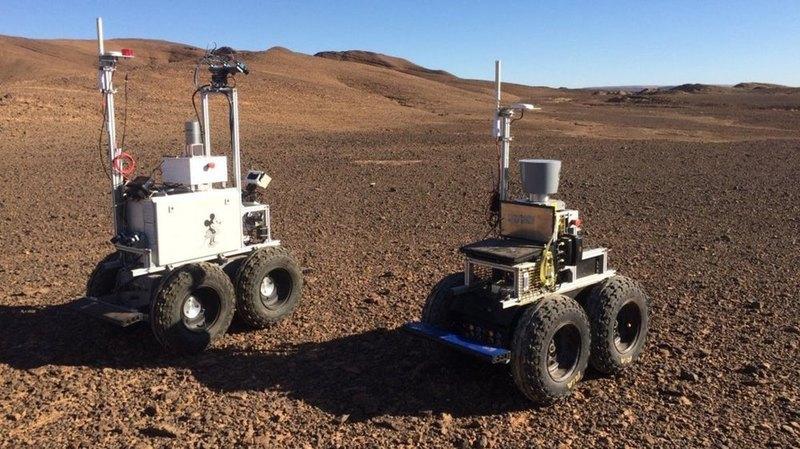 Ровер-марсоход, NASA-робочервь, лимо-самолет: новости технологий