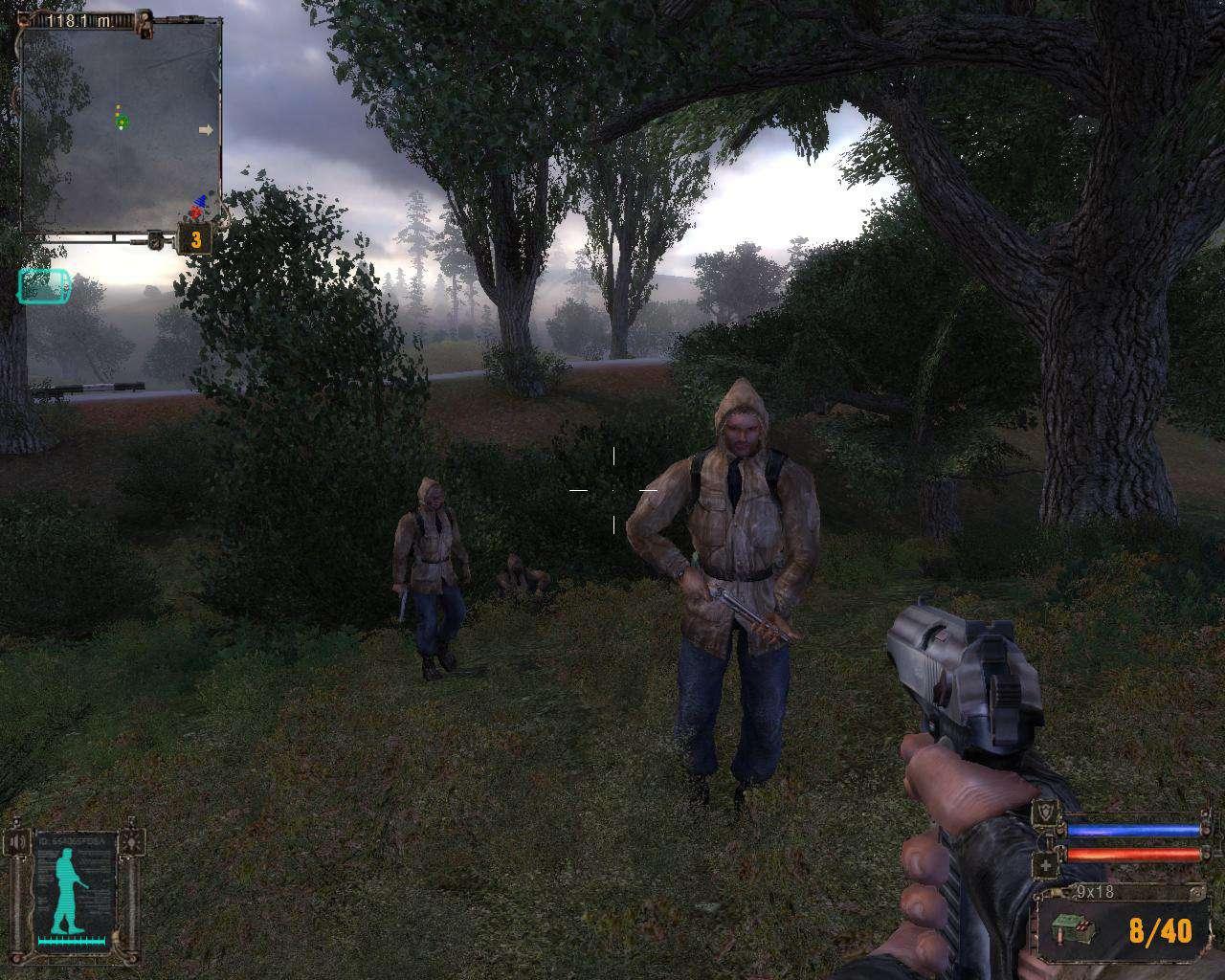 S.T.A.L.K.E.R.: Тень Чернобыля (скриншот игры)