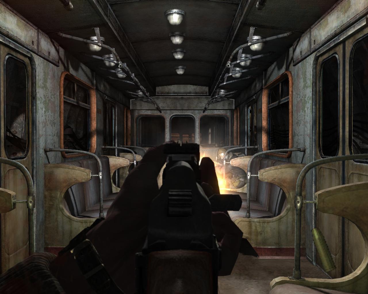 Metro 2033 (скриншот игры)