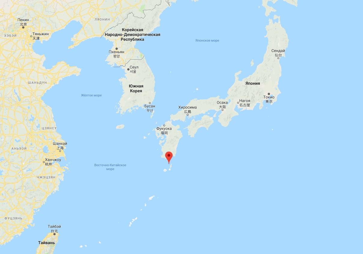 Япония купит необитаемый остров в Тихом океане для учений ВМС США
